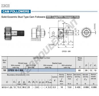 CFES10-1-BR-IKO - 10x26x12 mm