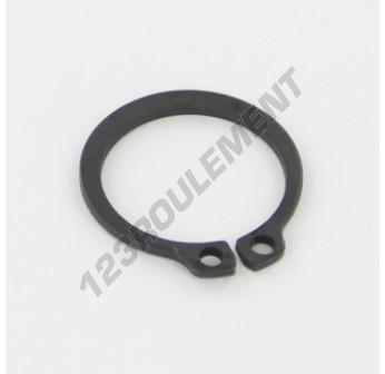 CIRCLIP-EXT-19 - 17.5x22.5x1.2 mm