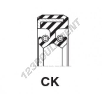 CK-28X40X9-NBR - 28x40x9 mm