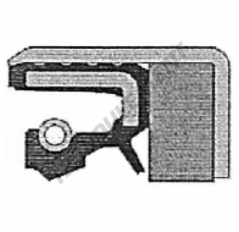 COMBI-40X65X18.5-NBR-CORTECO - 40x65x18.5 mm
