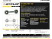 Rotules SI - DB-SA-157-DUNLOP