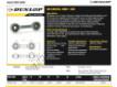 Rotules SI - DB-SA-158-DUNLOP