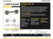Rotules SI - DB-SA-174-DUNLOP