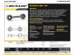 Rotules SI - DB-SA-200-DUNLOP