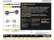 Rotules SI - DB-SA-207-DUNLOP