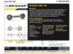 Rotules SI - DB-SA-355-DUNLOP