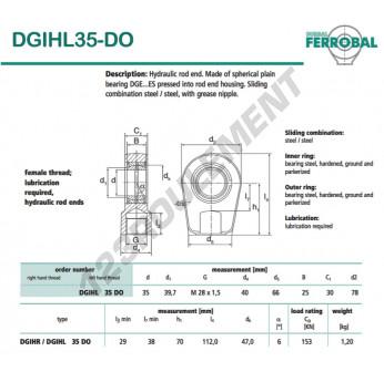 DGIHL35-DO-DURBAL - 35x78x30 mm