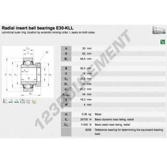 E30-KLL-INA - 30x62x48.5 mm