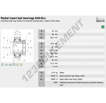 E40-KLL-INA - 40x80x56.5 mm