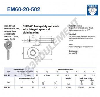 EM60-20-502-DURBAL