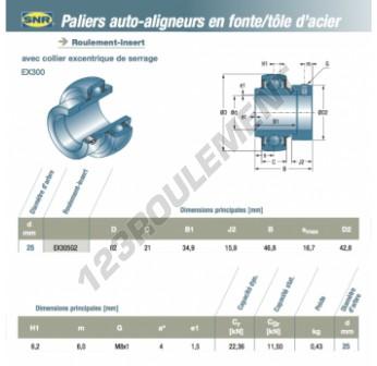 EX305-G2-SNR - 25x62x21 mm
