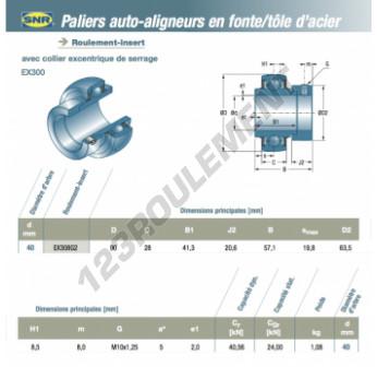 EX308-G2-SNR - 40x90x28 mm
