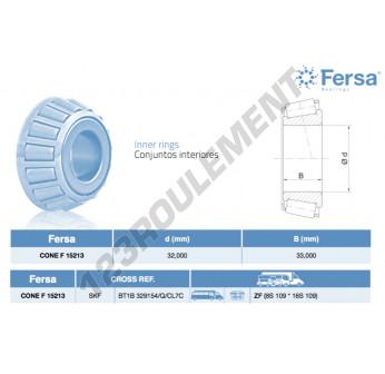 F15213-ASFERSA - 32x33 mm