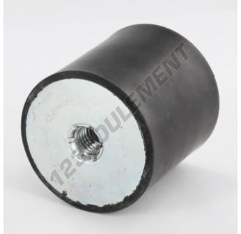 FF5050-10 - M10x50x50 mm