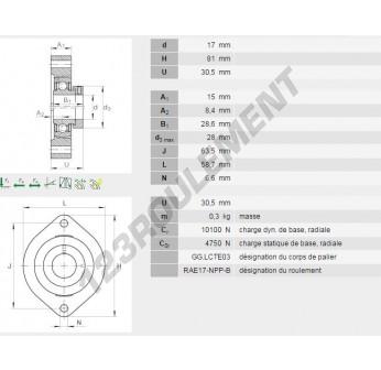 FLCTE17-INA - 17 mm