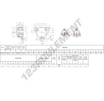 FNL-505-A-22205-K-H305-SKF