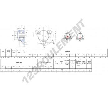 FNL-505-B-22205-K-H305-SKF