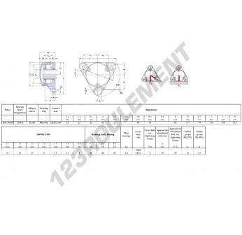 FNL-506-B-1206-K-H206-SKF