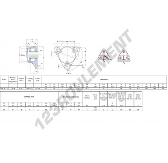 FNL-507-A-1207-K-H207-SKF