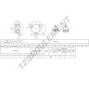 FNL-507-A-C-2207-K-H307-E-SKF