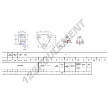 FNL-508-A-1208-K-H208-SKF