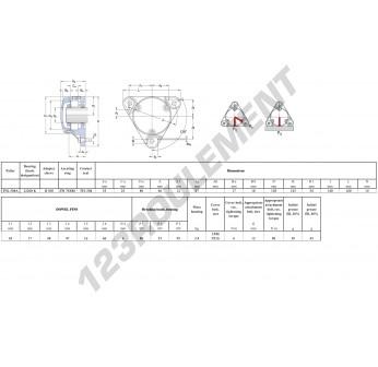 FNL-508-A-22208-K-H308-SKF