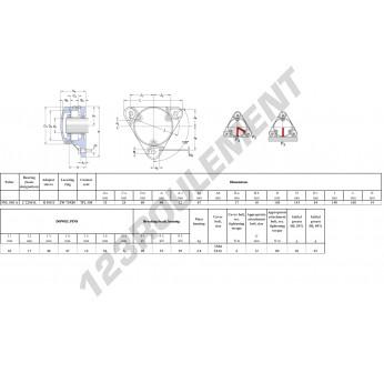 FNL-508-A-C-2208-K-H308-E-SKF