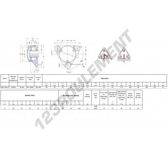 FNL-509-A-2209-K-H309-SKF