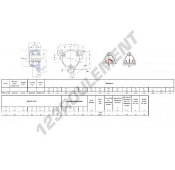 FNL-510-B-1210-K-H210-SKF