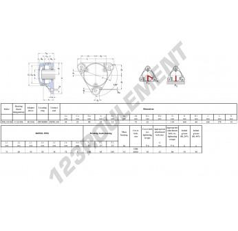 FNL-510-B-C-2210-K-H310-E-SKF
