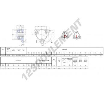 FNL-511-A-2211-K-H311-SKF