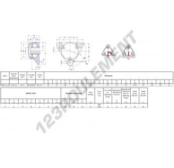 FNL-511-A-22211-K-H311-SKF