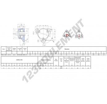 FNL-511-B-2211-K-H311-SKF