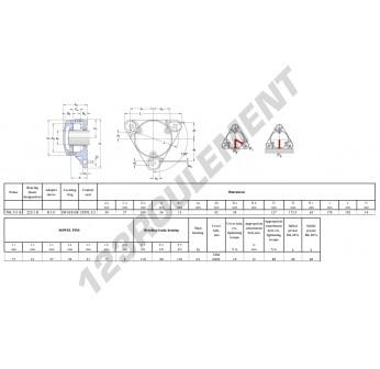 FNL-511-B-22211-K-H311-SKF
