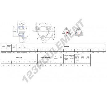 FNL-512-B-22212-K-H312-SKF