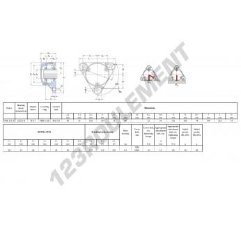 FNL-513-A-22213-K-H313-SKF