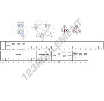 FNL-513-B-22213-K-H313-SKF