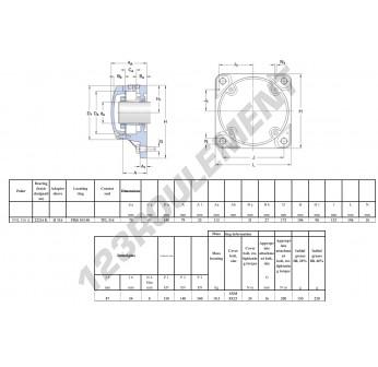 FNL-516-A-22216-K-H316-SKF