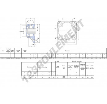 FNL-518-B-22218-K-H318-SKF