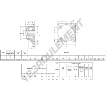 FNL-522-A-2222-K-H322-SKF