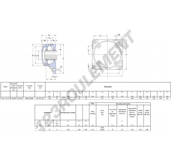 FNL-522-B-C-2222-K-H322-SKF