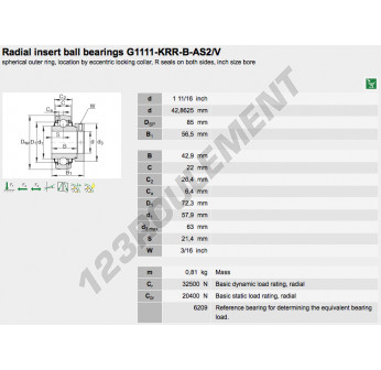 G1111-KRR-B-AS2-V-INA - 42.86x85x56.5 mm