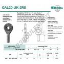 GAL20-UK-2RS-DURBAL