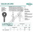 GAL60-UK-2RS-DURBAL