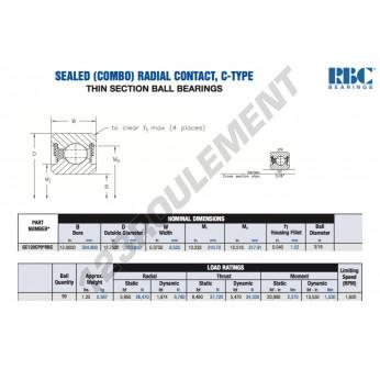 GC120-CP0-RBC - 304.8x323.85x9.53 mm