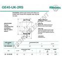 DGE45-UK-2RS-DURBAL