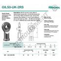 GIL50-UK-2RS-DURBAL