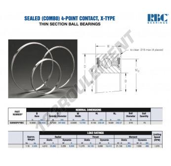 GU090-XP0-RBC - 228.6x247.65x12.7 mm
