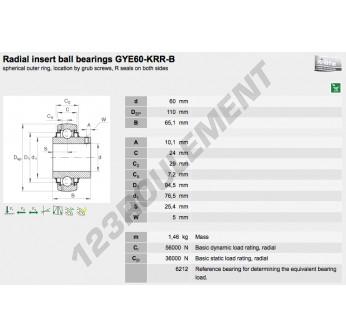 GYE60-KRR-B-INA - 60x110x65.1 mm
