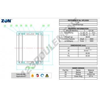 HFL3530-ZEN - 35x42x30 mm